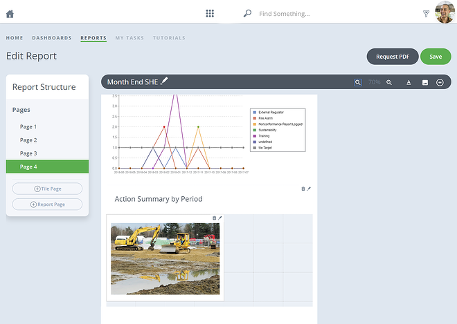 Track every stage of the incident reporting process in your organisation