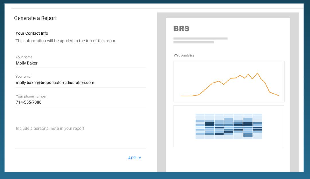 Veritone Attribute Software - Veritone Attribute custom reporting