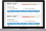 ZenGRC screenshot: View key metrics on real-time dashboards