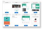 Aritic Pinpoint screenshot: Create interactive and engaging landing pages