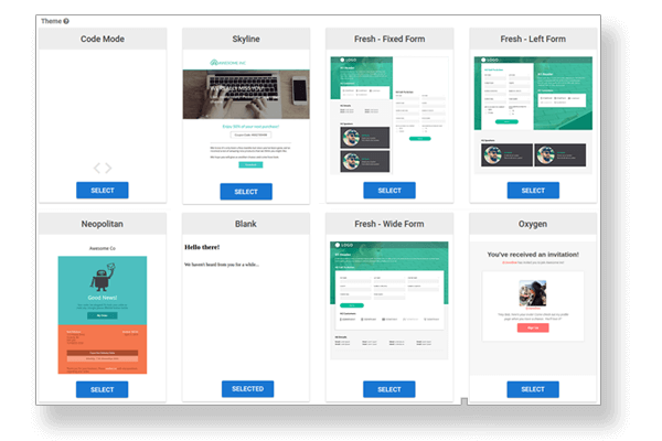 Create interactive and engaging landing pages