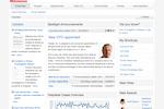 IntelliEnterprise screenshot: IntelliEnterprise Homepage