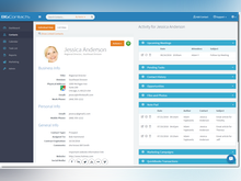 BigContacts Software - A unique Contact Dashboard delivers a 360 degree view of your Prospects & Customers
