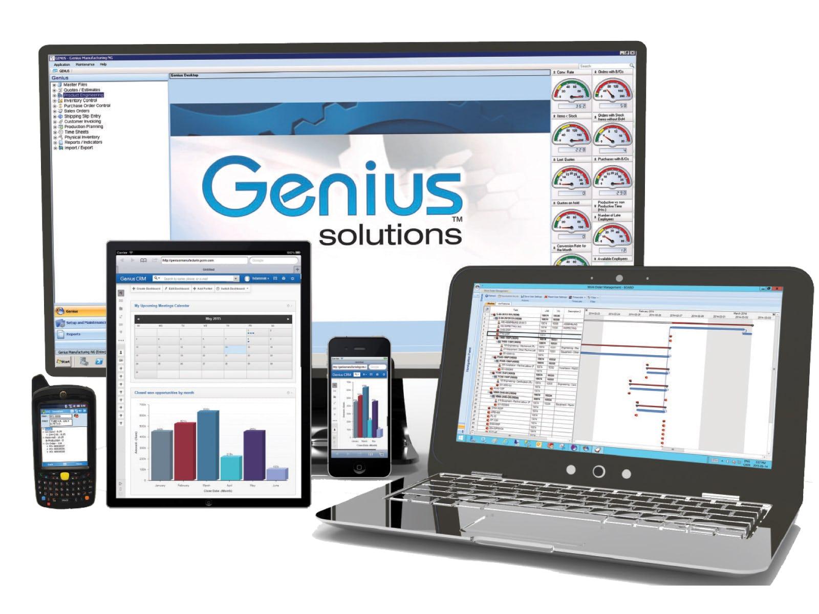 Genius ERP Software - 5 %>