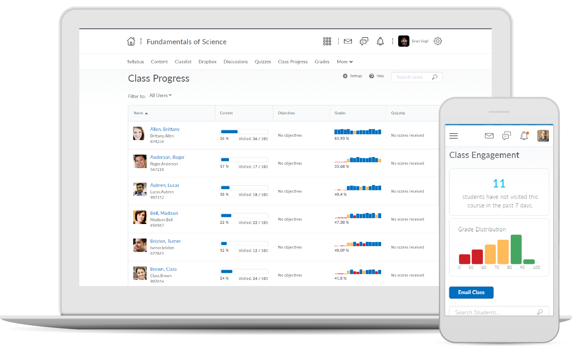 Brightspace LMS for K-12 & higher education