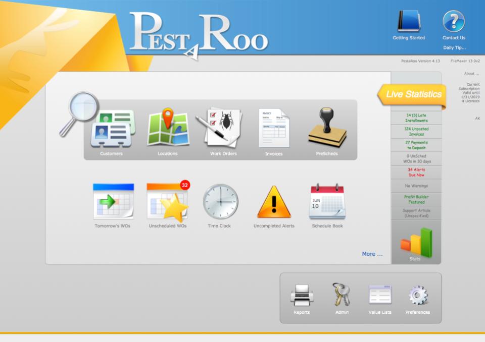 PestaRoo Software - 1