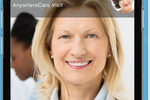 AnywhereCare screenshot: Interact with the doctor face-to-face from any Android or iOS device
