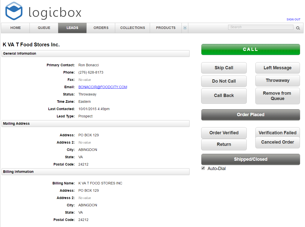 LogicBox Software - Applications for Inside Sales