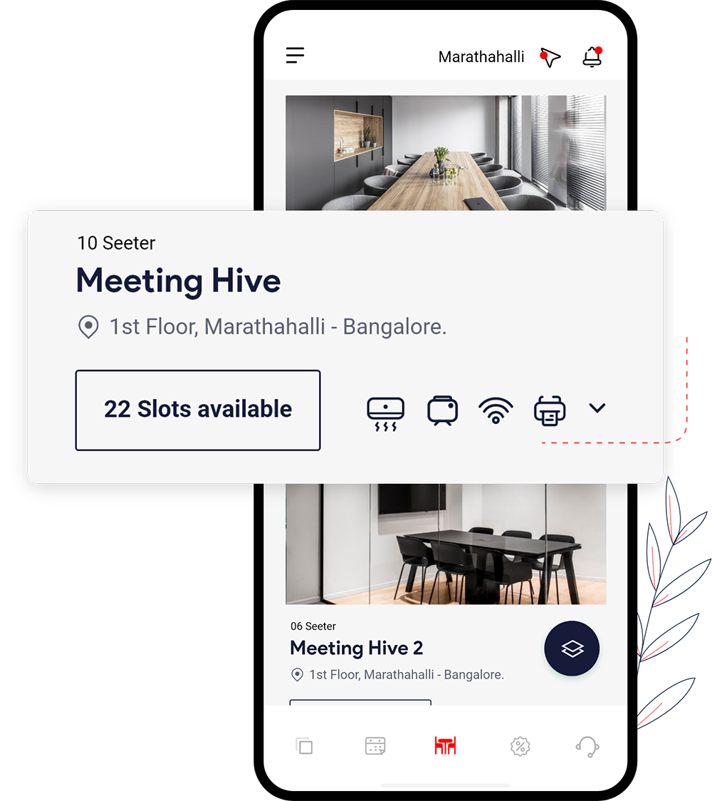 No more fighting let members book meeting room ahead of time with smart credits for fair usage with meeting room booking software.