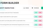 Lumiform screenshot: Lumiform form builder