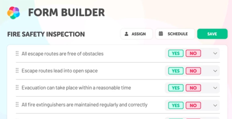 Lumiform form builder