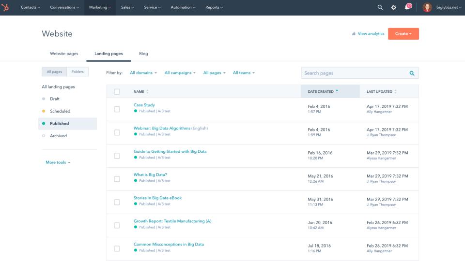 HubSpot Marketing Hub Software - 2