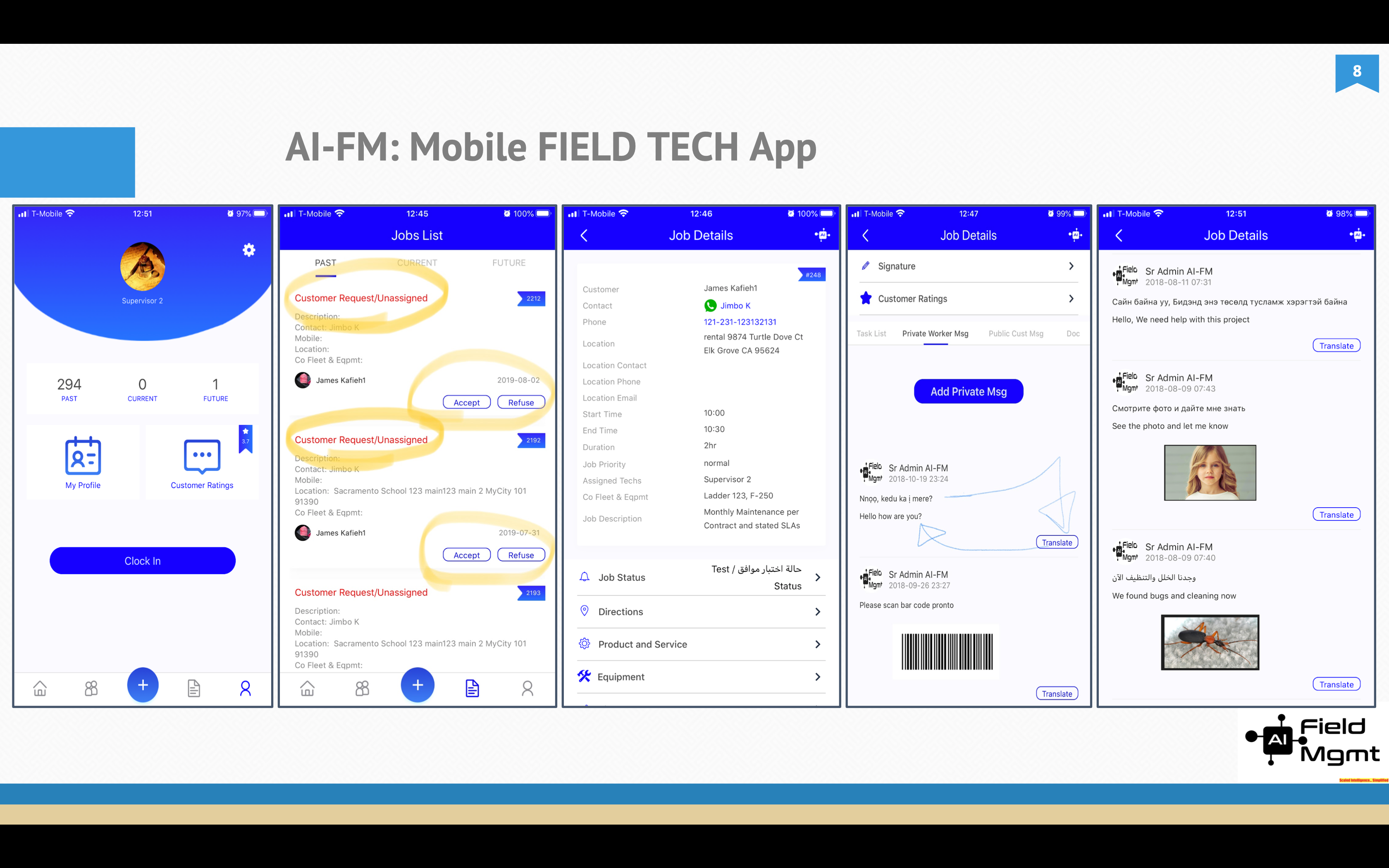 AI Field Management Software - Field App for your Employees and Contractors
