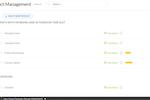 Regpack screenshot: Product Management