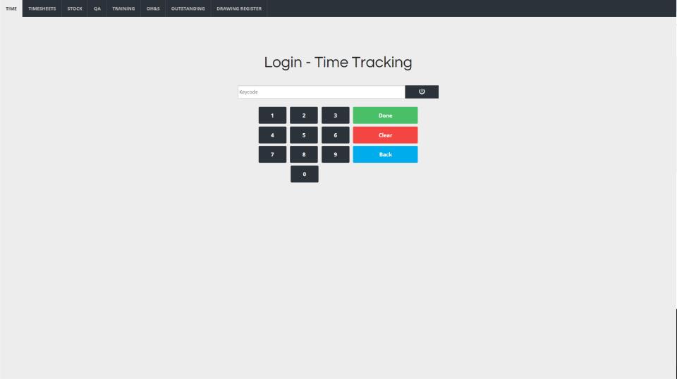 Nexvia Software - Time Tracking