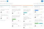 Profit.co screenshot: Manage tasks using Kanban boards