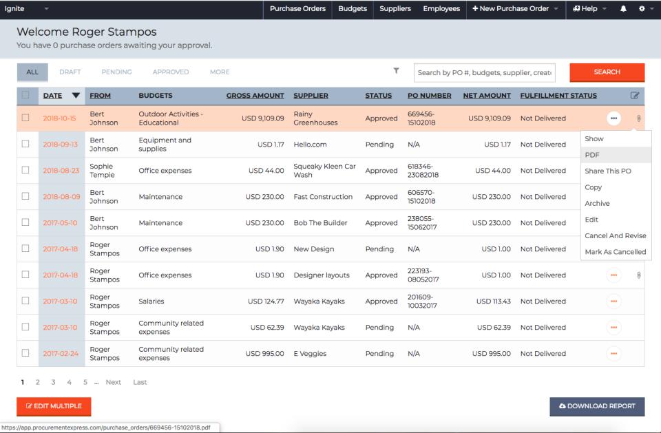 ProcurementExpress.com Software - 4