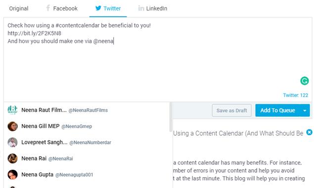 Create customized posts