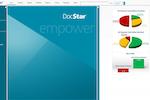 DocStar ECM screenshot: DocStar ECM homepage