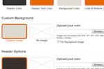 Qhub screenshot: Design control