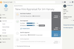 Captura de tela do Trakstar Performance Management: Manager's appraisal workshop for an employee's review