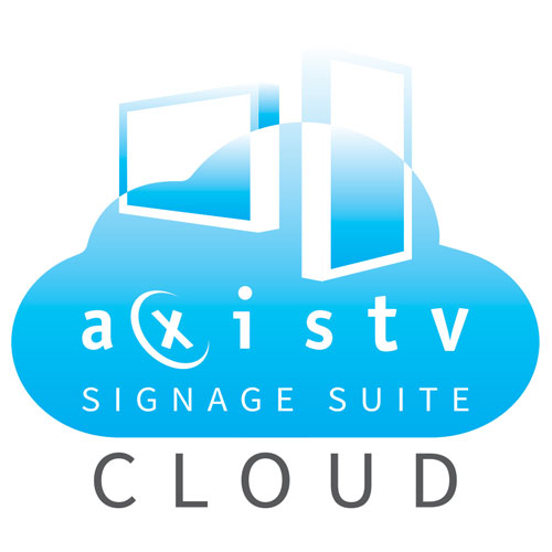 Our enterprise-class solution for cloud-based digital signage gives you all the features of our premise-based solution, with a smaller initial purchase and fewer maintenance responsibilities.