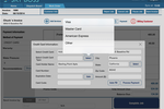 SkyBoss screenshot: Accept and process credit card transactions to give clients more flexibility over making payments