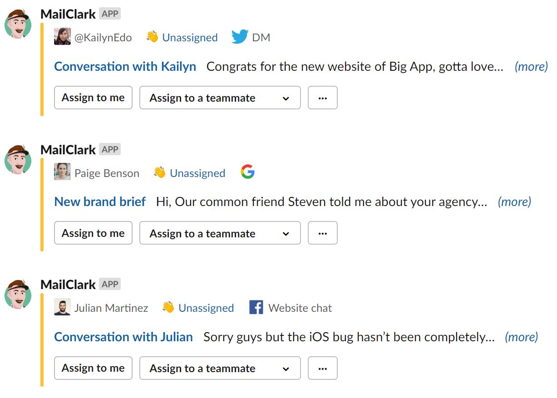Slack - Get all your external messages into Slack