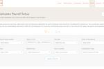 UZIO screenshot: UZIO employees payroll setup