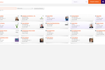 GrowthZone Screenshot: Easily view and manage all the individuals and organizations in your database. Conveniently group your contacts into lists or committees for mass emails.
