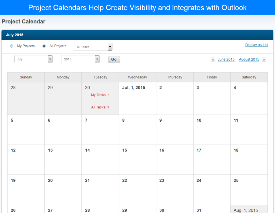 eCivis calendar