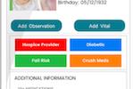 Capture d'écran pour ECP : ECP patient information