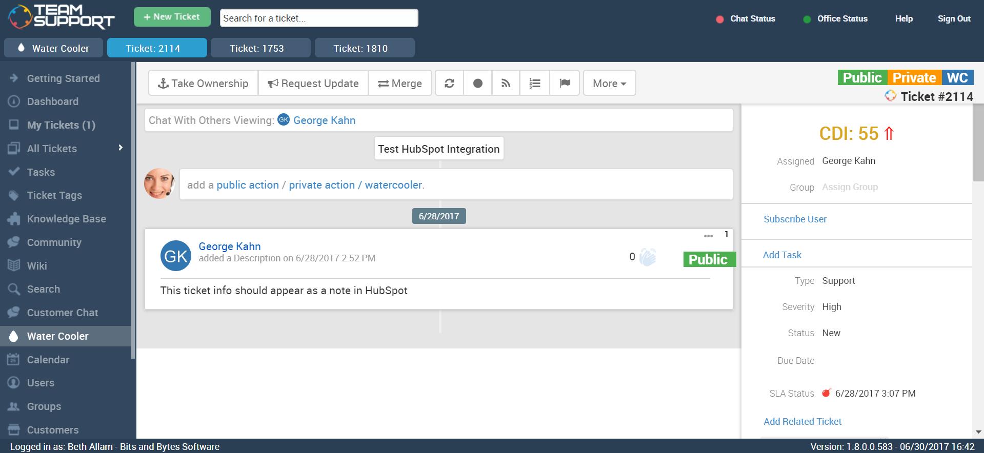 TeamSupport Software - 10