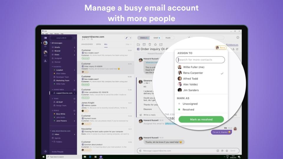 Loop Email Software - 2