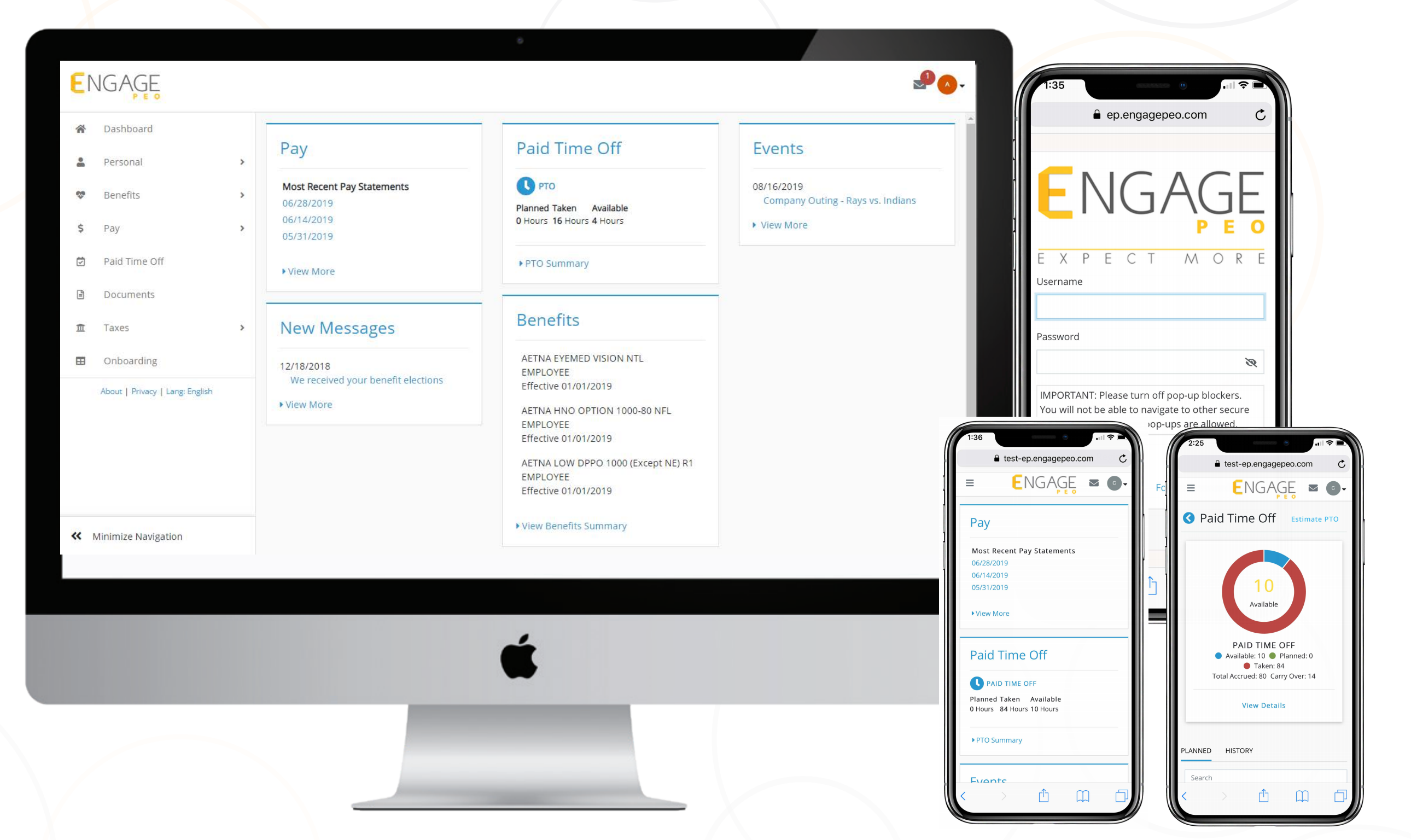 Engage PEO Software - 1