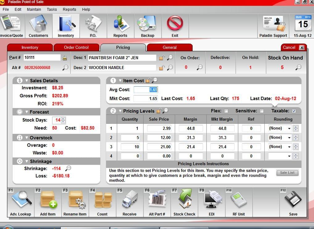 Paladin POS Software - Pricing %>