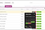 CloudAware screenshot: CloudAware violations tracker