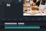 Filmora screenshot: Filmora video editing