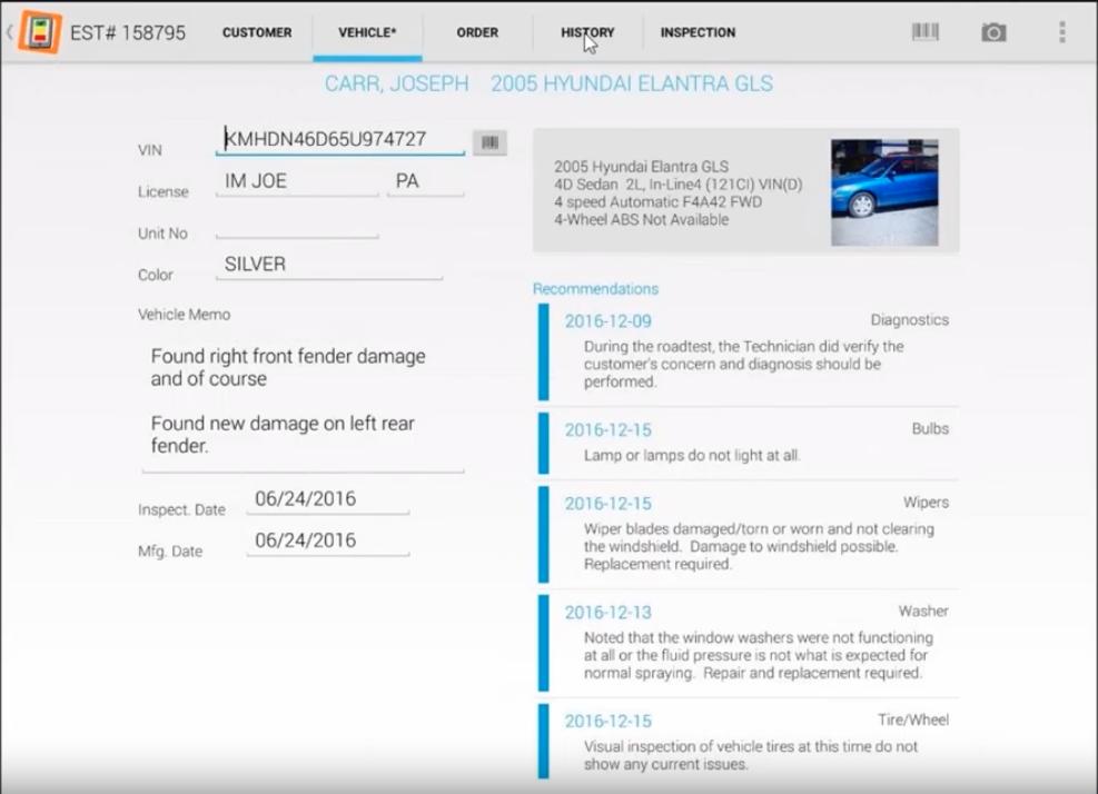Mobile Manager Pro Task Details