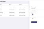 Rocketium screenshot: Social media integration for end-to-end delivery