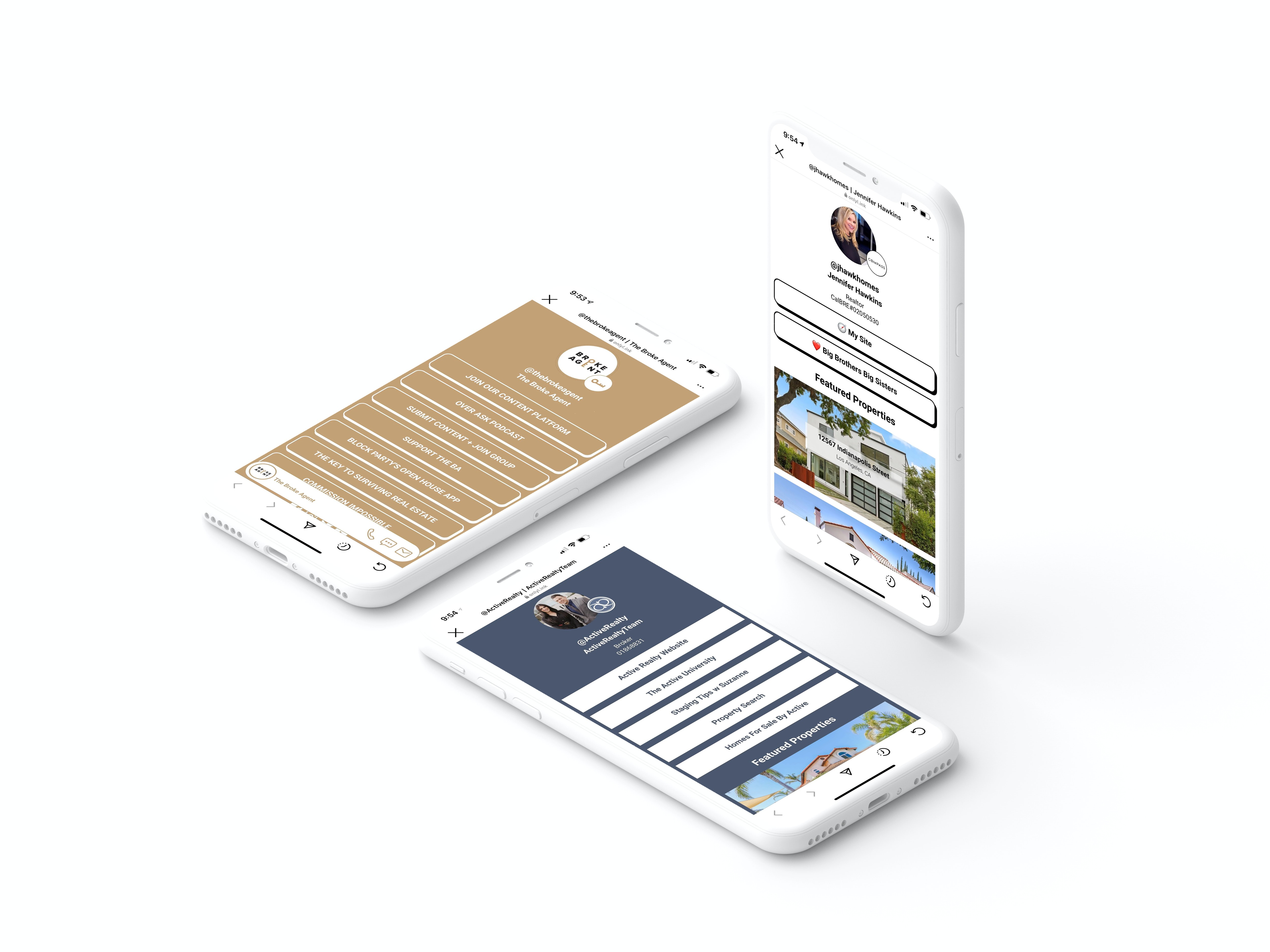 """The Instagram """"link in bio"""" that's designed for real estate agents and lenders: turn your Instagram into real estate lead magnet"""