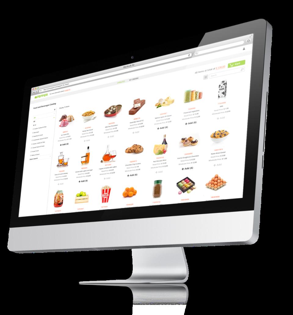 B2B eCommerce - Food