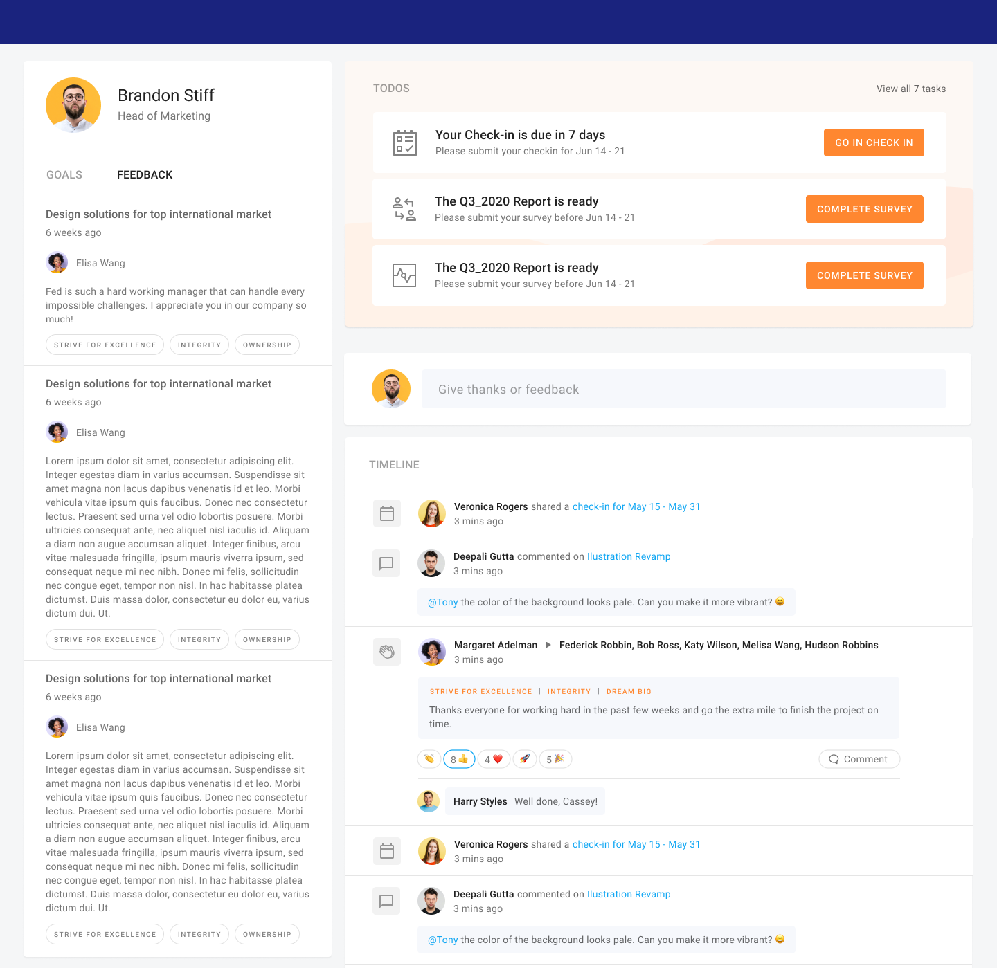 Anama screenshot: Manage everything in one app landing page