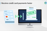 Synder Screenshot: Facilitate online payments with credit cards