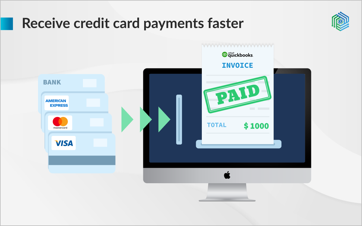 Facilitate online payments with credit cards