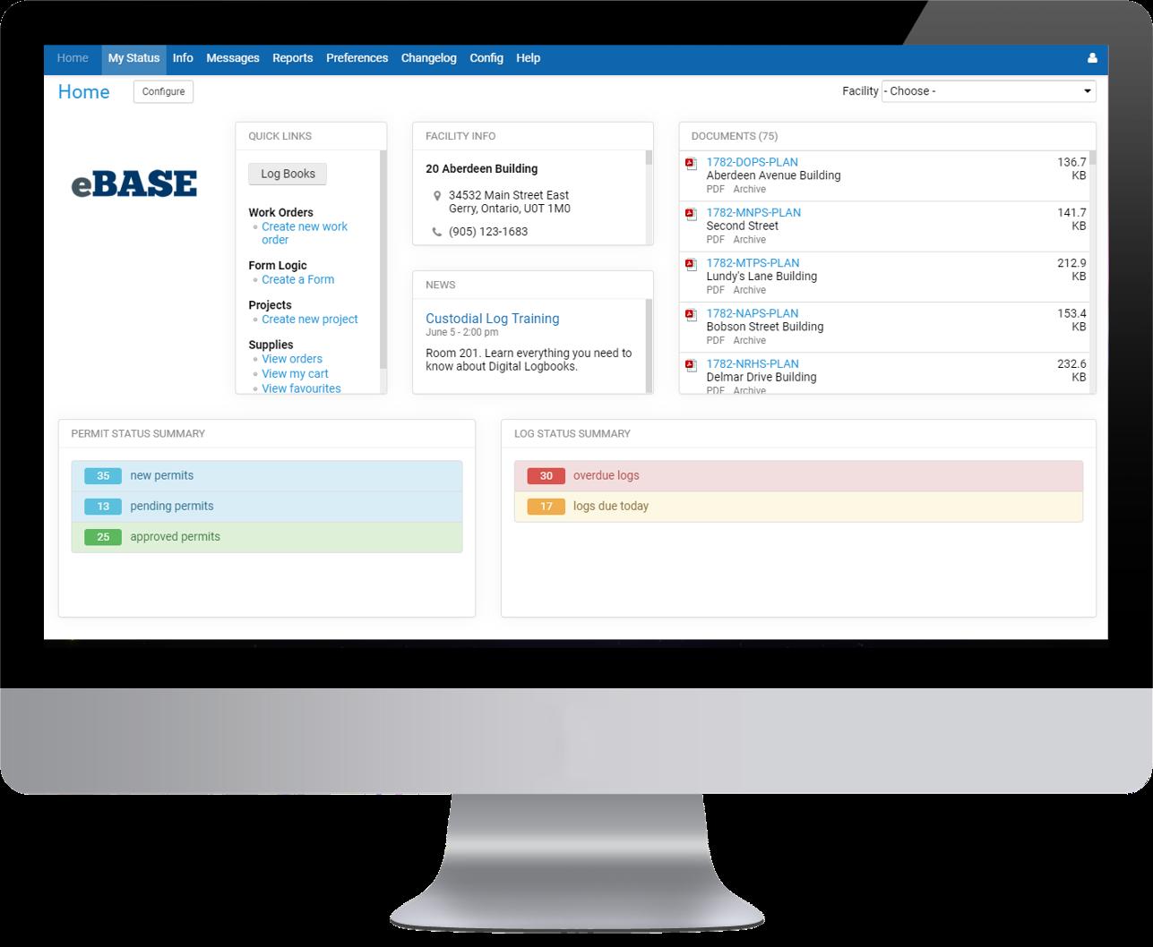 eBASE Software - eBASE Home Page