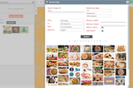 Captura de pantalla de FireDrum Email Marketing: Utilize FireDrum's free image database to add ready-made content to email campaigns.