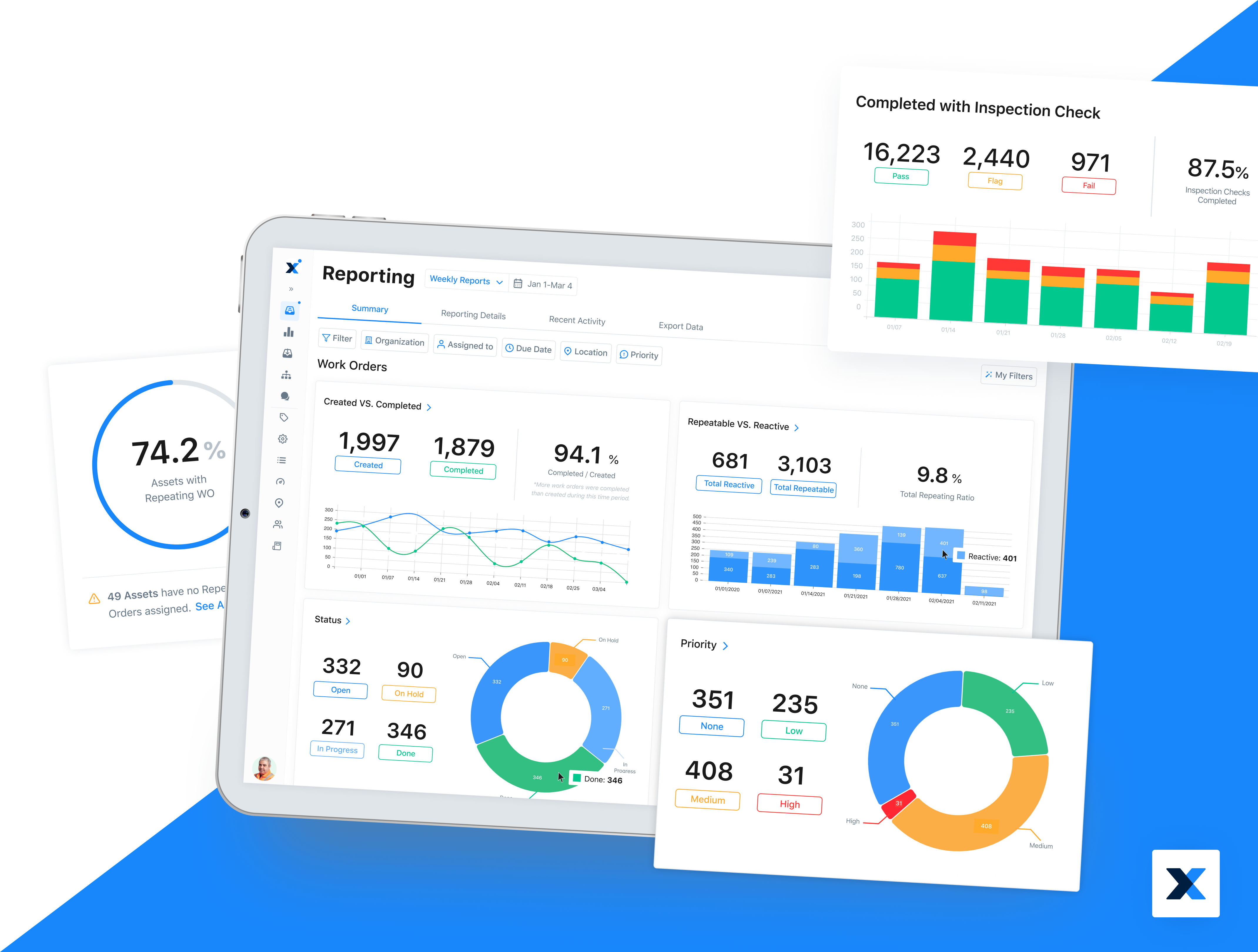 MaintainX Software - Real-Time Business Insights Across Your Organization