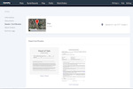 Cemify screenshot: Users can create, print, and store deed certificates for plots