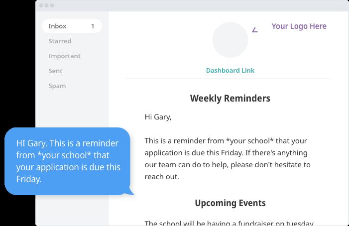 SchoolAdmin automated communications